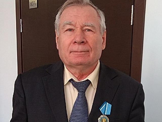 Награждение Ксенофонтова Бориса Семёновича