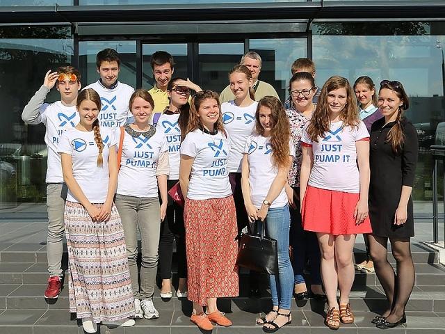 17 июня 2016 года студенты кафедры посетили завод компании Grundfos