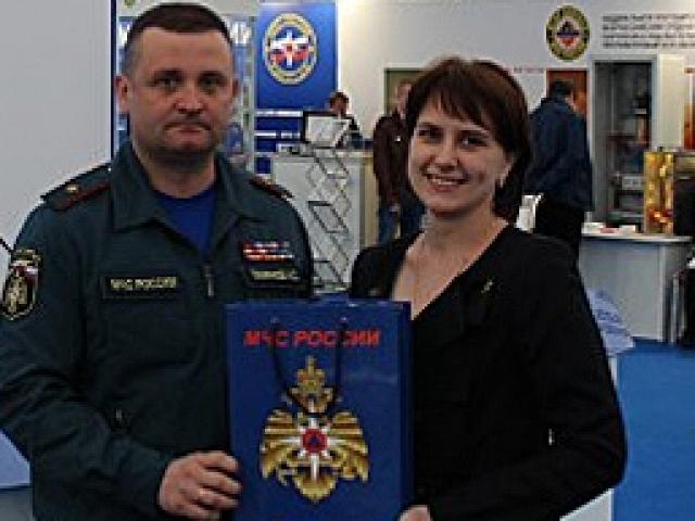 Фирсова Алёна стала победительницей конкурса на выставке Комплексная безопасность