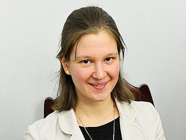 Екатерина Антонова лауреат Второго Всероссийского научного форума молодых ученых «Наука будущего – наука молодых»
