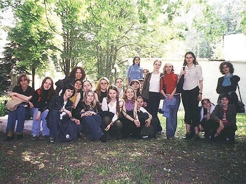 Первая практика группы Э9-61. 2003 год