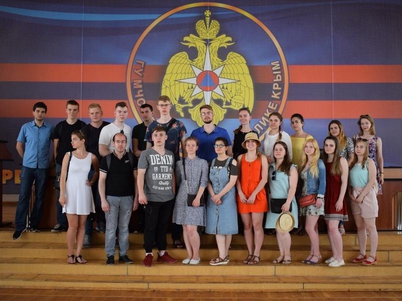 Практика 3 курса в Севастополе в 2018 году
